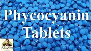 Organic Phycocyanin Tablets