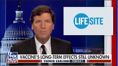 Tucker Carlson calls out Facebook for banning LifeSiteNews