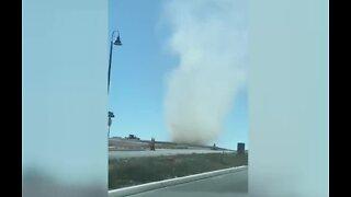 Massive dust devils spotted in Las Vegas