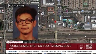 Four children missing from Mesa