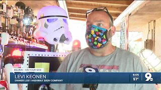 Local artist using social media to sell work amid pandemic cancelations
