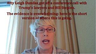 Atty Leigh Dundas Trump Team Update