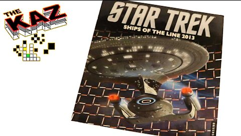 2013 Star Trek Ships of the Line Calendar
