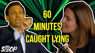 60 Minutes Caught Editing DeSantis Video To Promote False Vaccine Narrative
