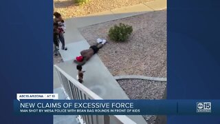 New claims of excessive force with Mesa Police
