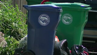 Niagara Falls street flooded with trash, no pick-up since July 9