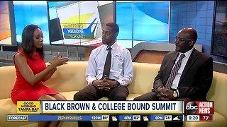 Black Brown & College Bound Summit at HCC