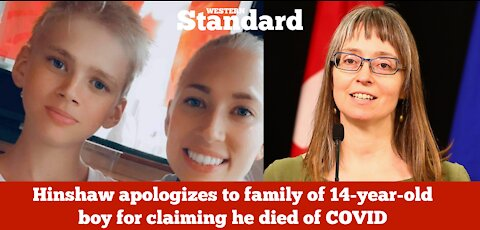 Hinshaw apologizes to family of 14-year-old boy for claiming he died of COVID