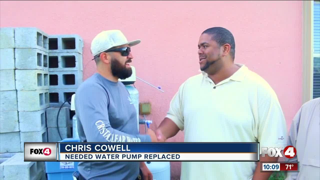 Good samaritan fixes broken water pump after seeing Fox 4 story