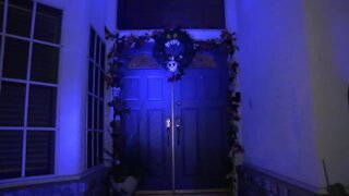 Raise your Halloween spirits with this haunted mansion