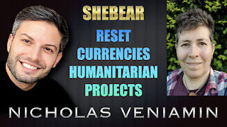 Shebear Discusses Reset, Currencies and Humanitarian Projects with Nicholas Veniamin
