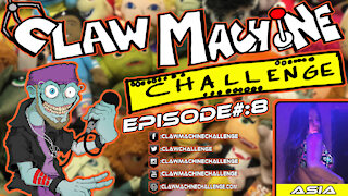 Claw Machine Challenge Ep #8 Featuring Asia Luv
