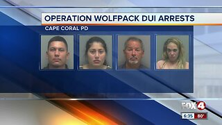 Cape Coral Police conducts Operation Wolfpack