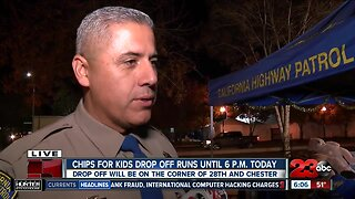 CHiPS for Kids drop off event downtown Bakersfield Friday