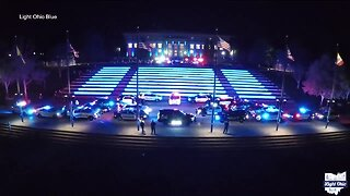 Residents, businesses asked to Light Ohio Blue to show support for law enforcement