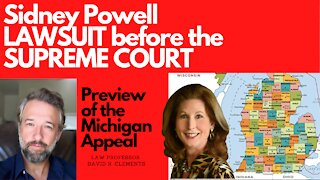 SIDNEY POWELL Supreme Court case from Michigan PREVIEW