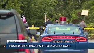Inkster shooting leads to deadly crash in Dearborn Heights
