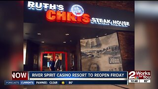 River Spirit Casino Resort to reopen Friday