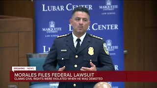 Former Police Chief Alfonso Morales sues Milwaukee in federal court, arguing his civil rights were violated