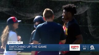 Oxbridge baseball player switching up the game