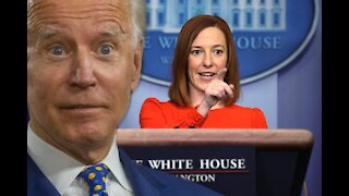 Psaki Asked Point Blank: Why Hasn't Joe Biden Had a Press Conference yet?