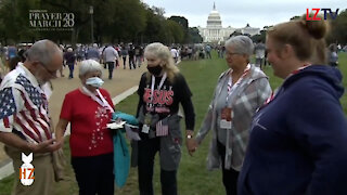On the ground reporting from the Prayer March in Washington