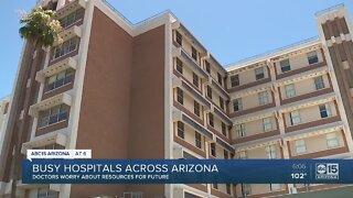 Busy hospitals across Arizona