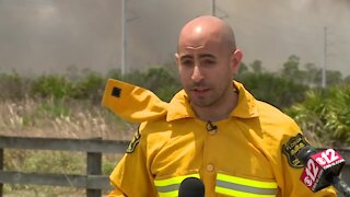 Florida Forest Service gives update on Indian River County brush fire