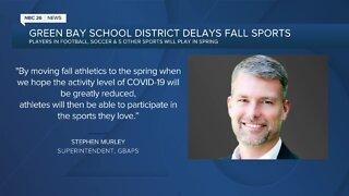 Green Bay, Appleton move high school fall sports to spring
