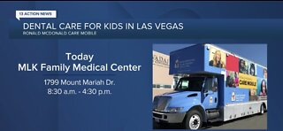 TODAY: Ronald McDonald Care Mobile offers dental care for Vegas kids