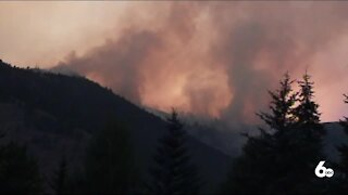 Smoke increases as wildfires continue