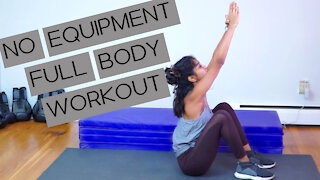 Full Body Workout (Under 15 Minutes!)