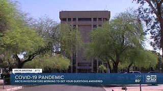 Coronavirus concerns in Arizona