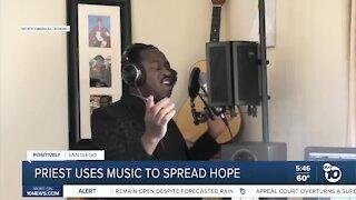San Diego priest uses music to spread hope
