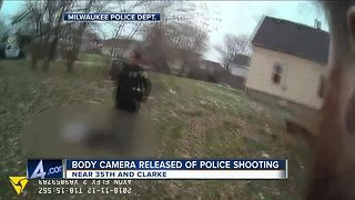 Milwaukee Police release body-cam footage of officer-involved shooting