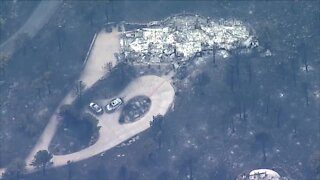 AirTracker7 video shows neighborhoods destroyed in Boulder County fires