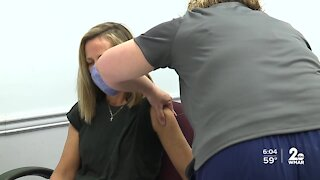 Anne Arundel County Department of Health gives Moderna COVID-19 vaccine to health care workers