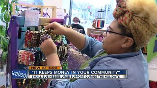 Shopping at small businesses makes a big impact