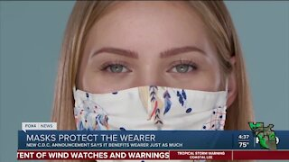CDC says masks can protect against the coronavirus