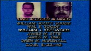 Denver7 archive: The aliases used by then-bank massacre suspect Jim King