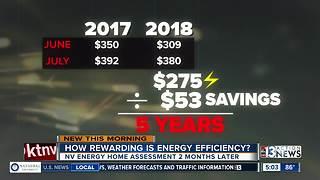 Saving money and energy