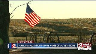 Officials question future city of Oklahoma veterans home
