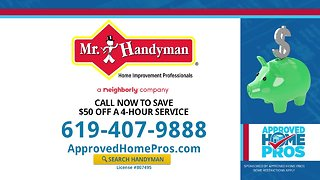 Approved Home Pros: Mr. Handyman