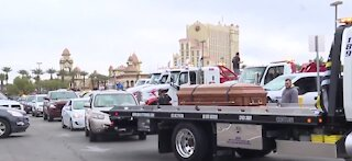 Law enforcement leads cyclist, emergency vehicle road safety event in Las Vegas