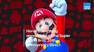 Super Mario Bros. 35th Anniversary Direct