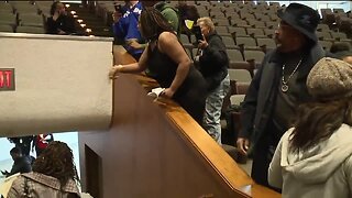 Chaos erupts at Detroit City Council meeting after Mayor Duggan's remarks