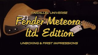 Fender Meteora - Unboxing & First Impressions