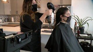 Denver Mobile Hair salon finds success during COVID-19 pandemic
