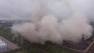 Demolition of the Rugeley Power Station    ViralHog