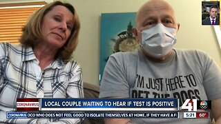 Local couple waiting to hear if test is positive